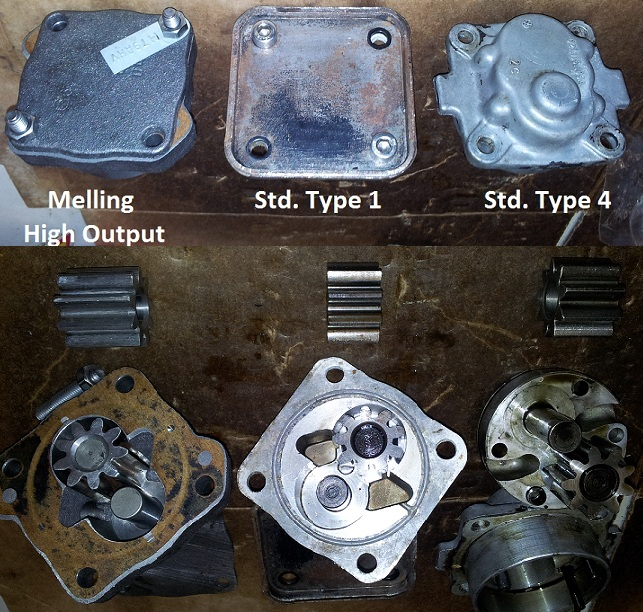 Oil Pump Selection For Big CC Type1 Engine